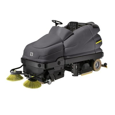 Karcher Large Ride-on Scrubber Dryer & Sweeper (B100/250RI) Hire